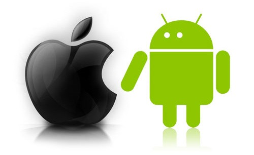 android and iPhone apps