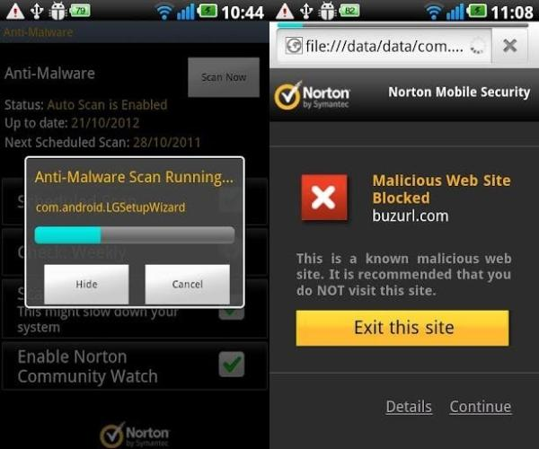 norton antivirus security